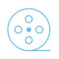 DJI Drone Red Spark Quickshot Icon – Product Description