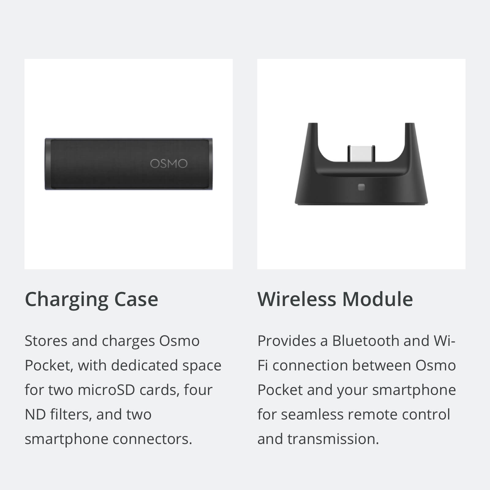 OSMO Pocket - Charging Case, Wireless