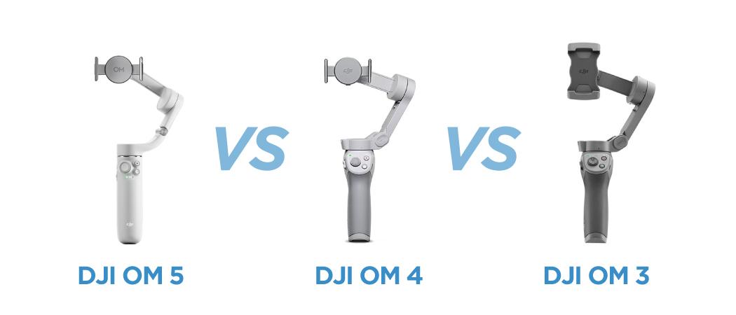 DJI OM5 vs DJI OM4 vs DJI OM3: What's Different?