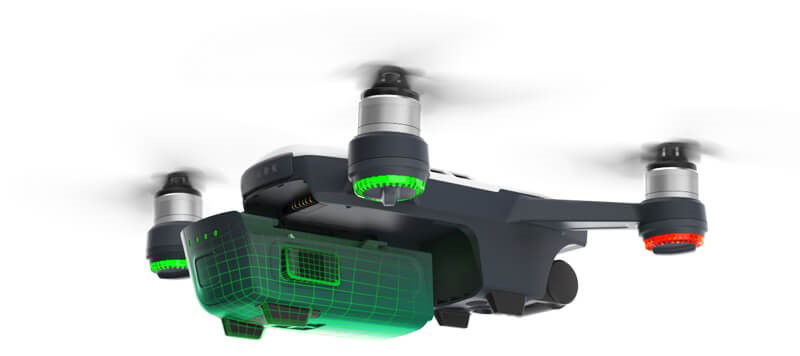 DJI Drone Spark Sky Blue (Stay in the Air) – D1 Store Australia