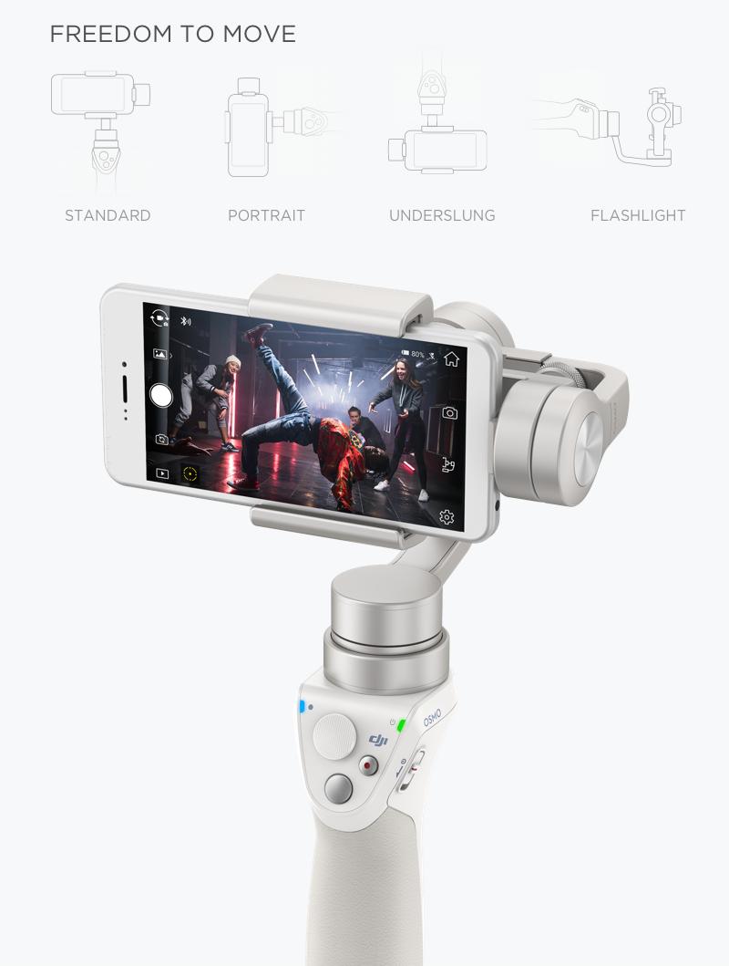 DJI Osmo Mobile (Cinematic Smartphone Video) Australia at D1 Store