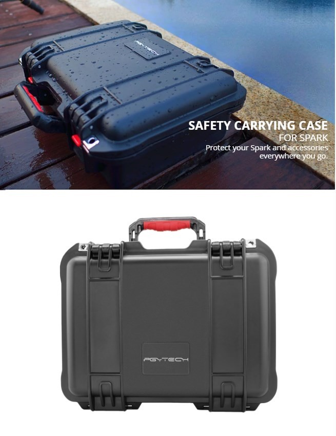 DJI PGYTECH Spark – Safety Carrying Case Australia at D1 Store